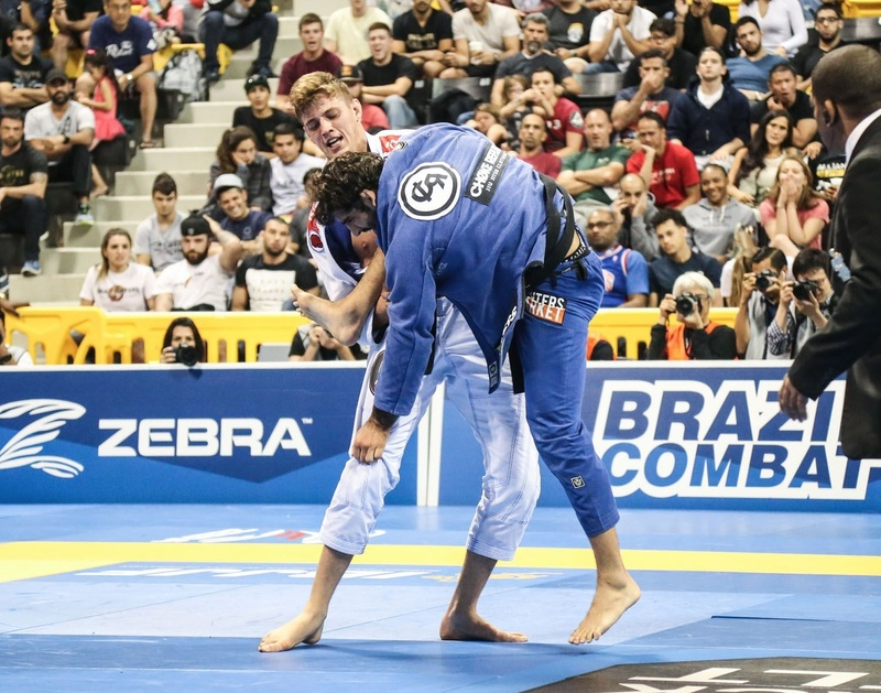 Meregali upset Leandro Lo in the heavyweight final