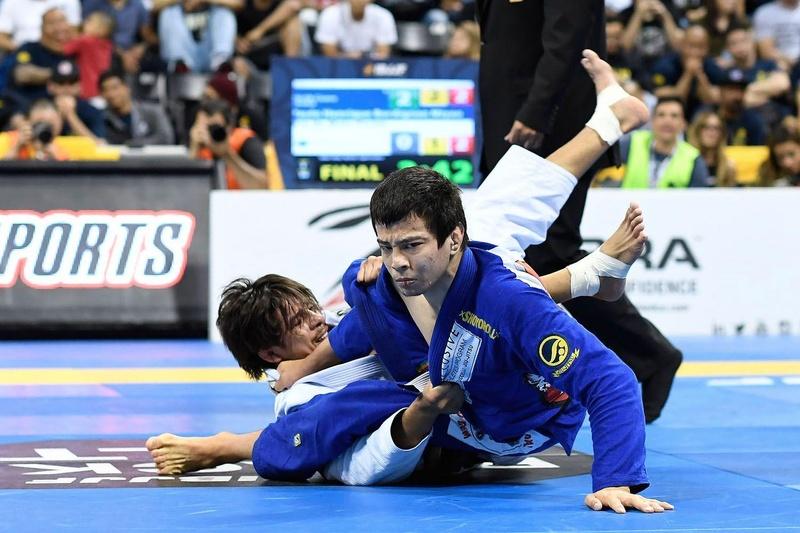 BJJ Worlds 2016: Paulo Miyao vs. Ary Farias