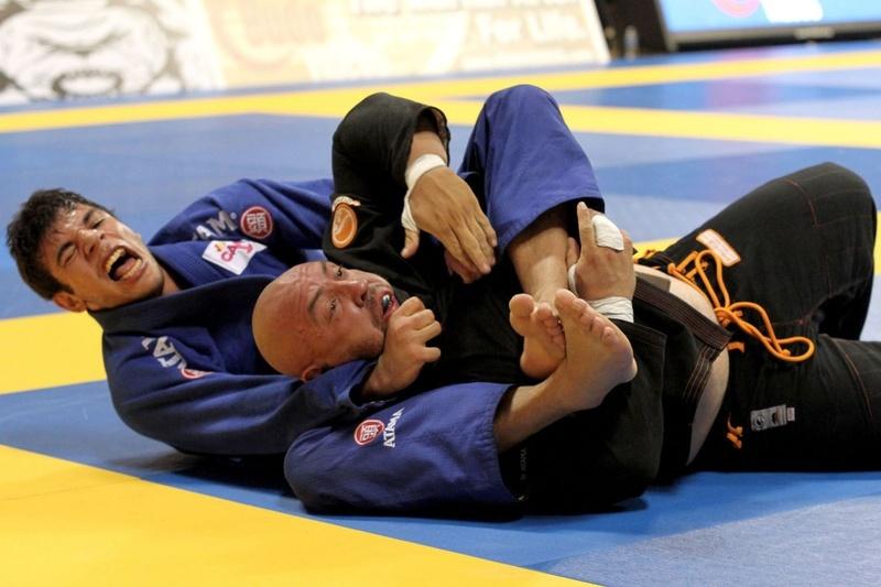 João Gabriel vs Orlando Sanchez at BJJ Worlds 2012