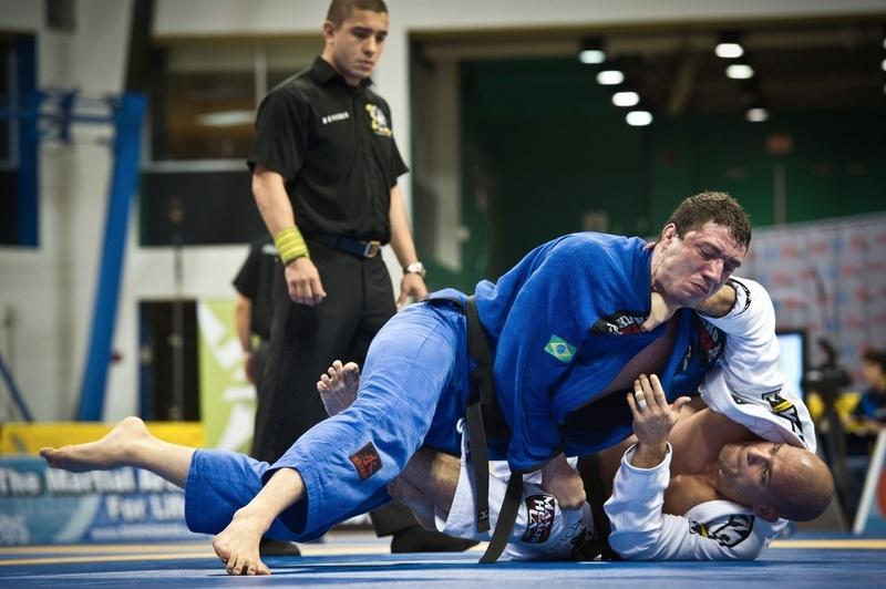 Xande Ribeiro vs Leo Nogueira at BJJ Worlds