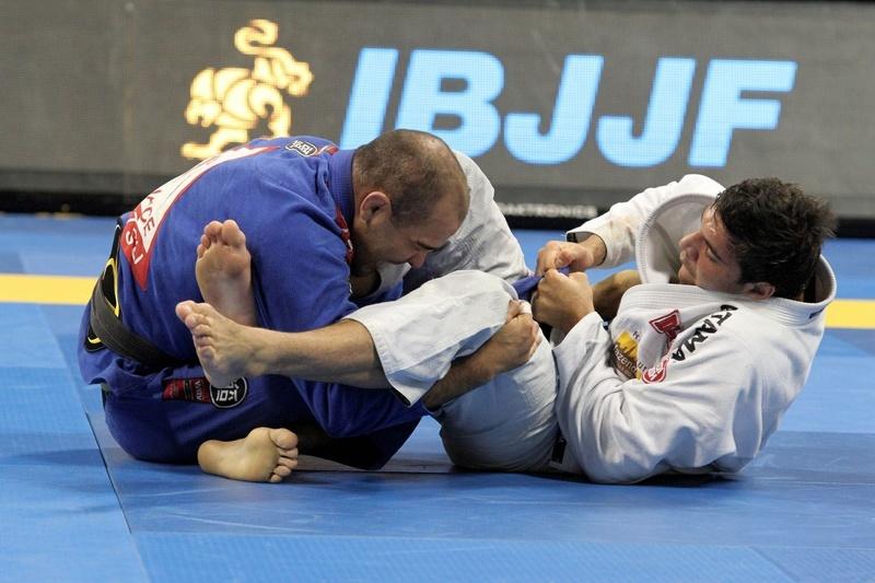 João Gabriel vs Bernardo Faria at BJJ Worlds 2014