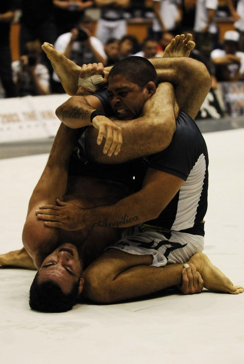 Roger Gracie vs. Ronaldo Jacaré in 2004