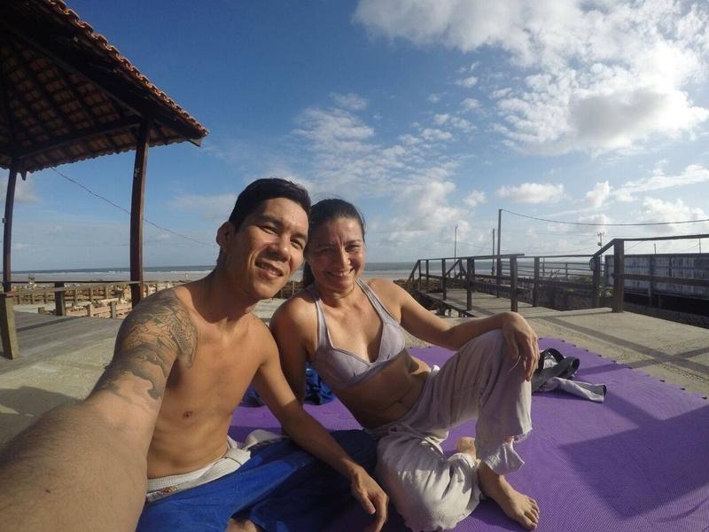 Surf e Jiu no Tijuco (Salinópolis - Pará - Brasil)
