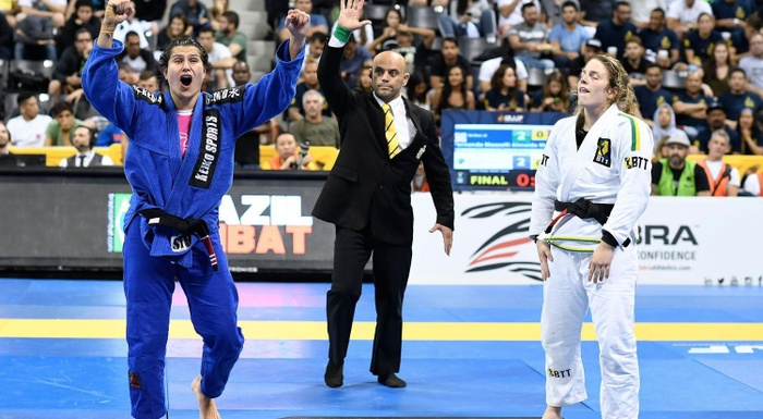 BJJ Worlds 2016: Fernanda Mazzelli vs. Alison Tremblay