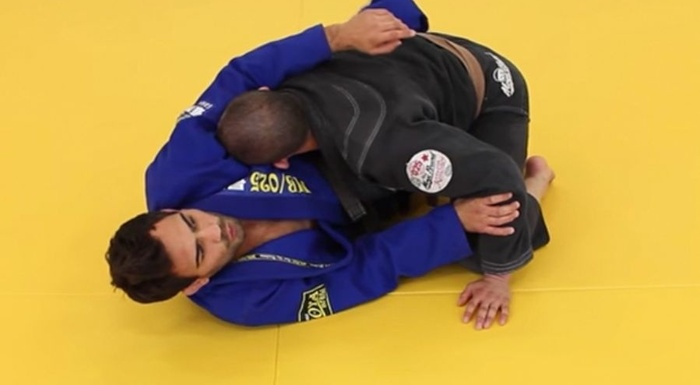 Brazilian Jiu-Jitsu technique: Lucas Leites teaches how to take the back from half guard sweep