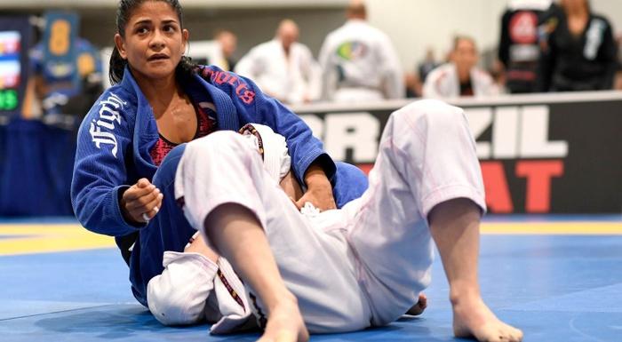 BJJ World Master 2016: Sofia Amarante vs. Carla Franco