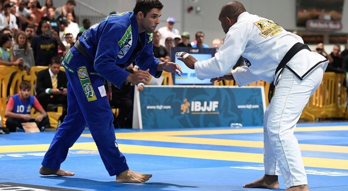IBJJF Pro League GP 2016: Marcus Buchecha (Checkmat) vs Bruno Bastos (Bruno Bastos Association)