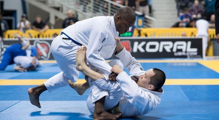 2016 BJJ Worlds: blue belts in action