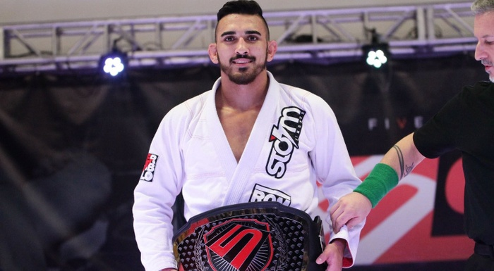 BJJ: Edwin Najmi beats 3 to win Five Grappling Super League