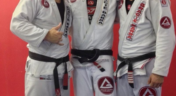 Gracie Barra Family