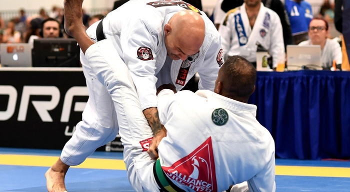 BJJ World Master 2016: Roberto Godoi gets double gold at master 3