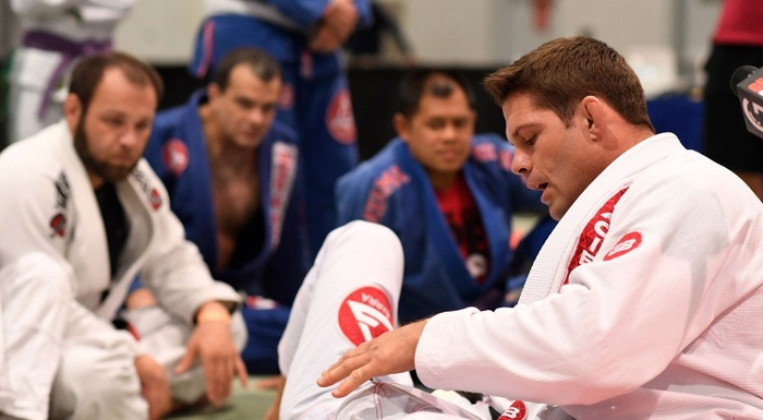 "BJJ seminars: Vinícius Draculino and Flávio ""Cachorrinho"" Almeida share their knowledge"