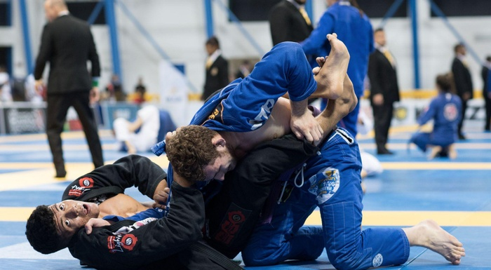 BJJ Worlds 2016: Victor Hugo Marques takes purple belt super-heavyweight male title