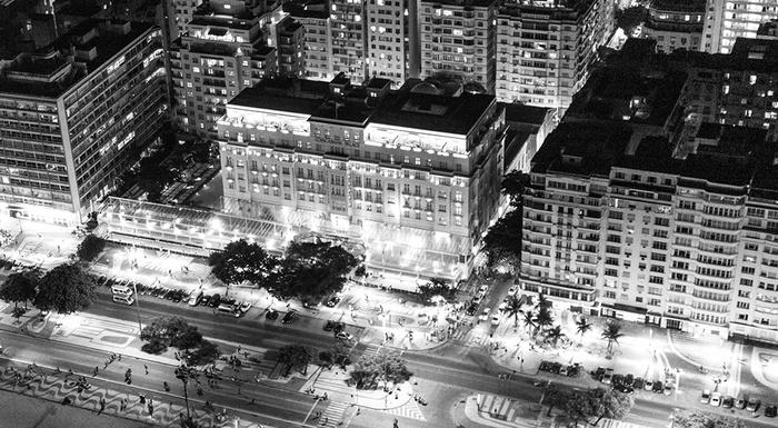 Rio de Janeiro as seen from above