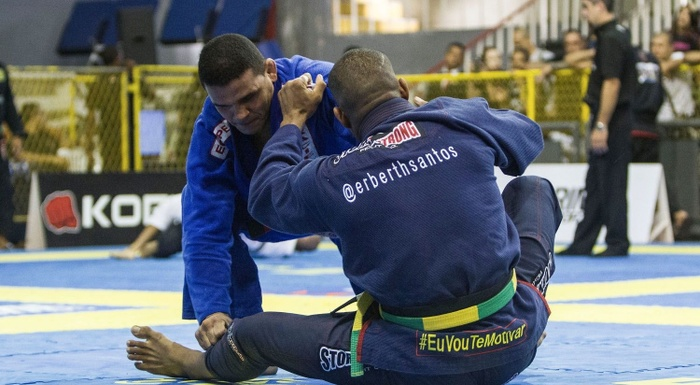 Rio Winter International Open Jiu-Jitsu: watch Erberth Santos in action at absolute