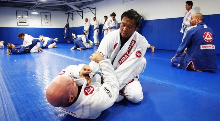 Jiu-Jitsu Training #GracieBarra
