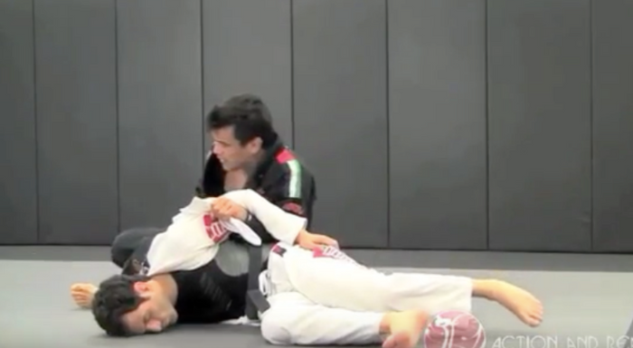 Brazilian Jiu-Jitsu lesson: Rubens Charles Cobrinha teaches how to apply the Cruciplata