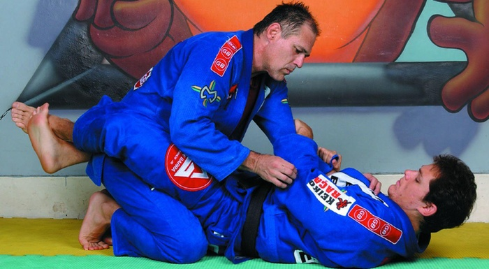 Armbar from the guard