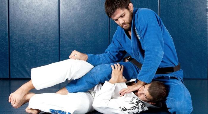 Brazilian Jiu-Jitsu lesson: Robert Drysdale teaches how to take the back starting from deep half-guard