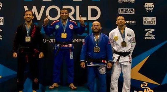 IBJJF WORLD MASTER 2015 CHAMPION!