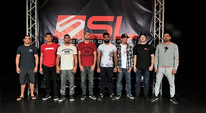 Five Grappling Super League weigh-in; eight-man welterweight tourney happens today in California
