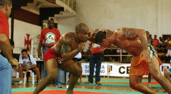 BJJ history: In 2002, Paulo Filho and Alexandre Cacareco fought another battle between Brazilian Jiu-Jitsu and Luta-livre