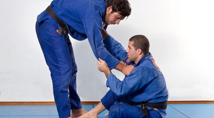 João Gabriel ensina um arm-lock acrobático
