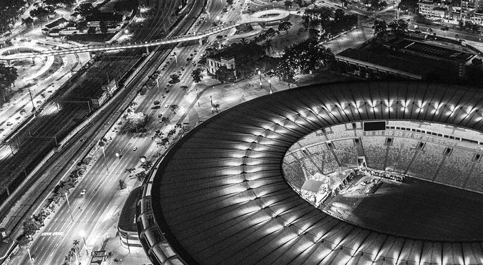 Rio de Janeiro as seen from above part 2