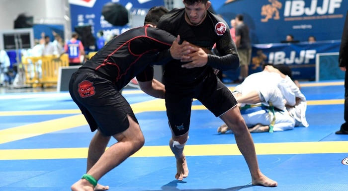 Brazilian Jiu-Jitsu US Nationals 2016: Lucas Barbosa vs. Eliot Kelly