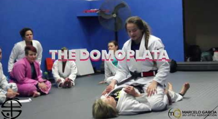 Learn the Domoplata from BJJ world champion Dominyka Obelenyte