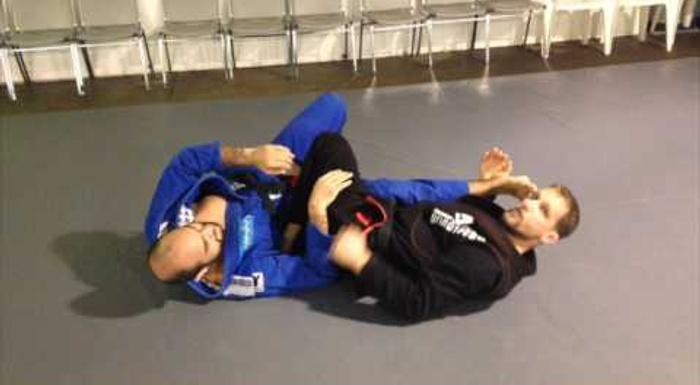 Learn a sweep to prevent your guard from getting passed in BJJ