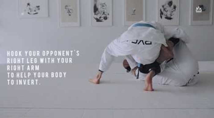 BJJ: Learn how to apply the timber sweep and use the berimbolo to take the back