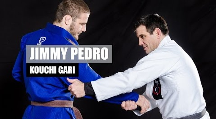 Travis Stevens' judo coach Jimmy Pedro teaches how to apply the kouchi gari