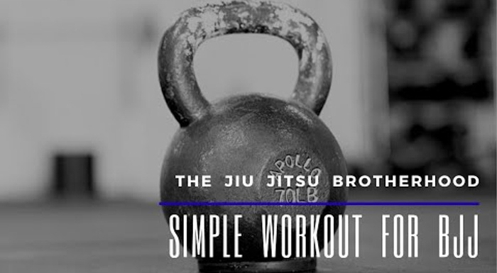 Learn a quick 3-exercise conditioning routine for Jiu-Jitsu
