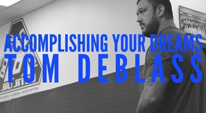 Tom DeBlass on his BJJ beginnings, philosophy, motivation and inspiring people through martial arts