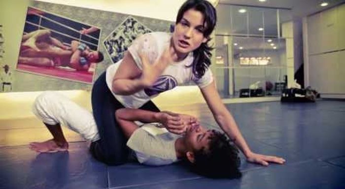BJJ: An armbar class with Kyra Gracie