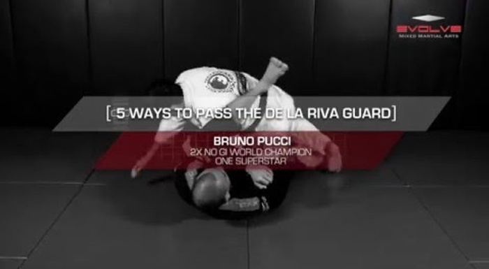 BJJ fundamentals: 5 ways of passing the de la Riva