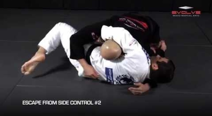 5 effective ways to escape side control in BJJ