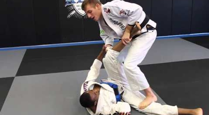 Brazilian Jiu-Jitsu lesson: Keenan Cornelius teaches a wrecking ball pass