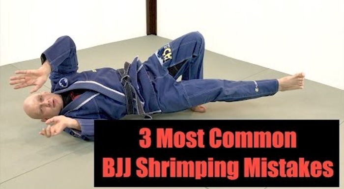 BJJ: 3 common shrimping mistakes and how to avoid them