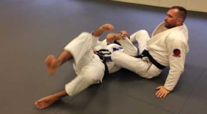 BJJ lesson: Surprise your opponent with this armbar from the north-south position