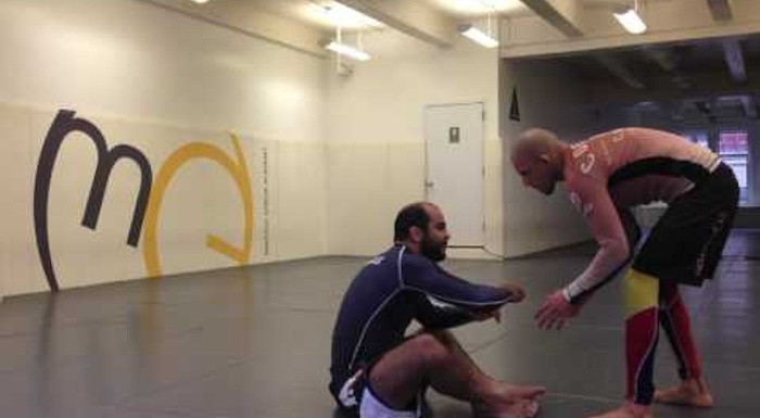 BJJ: Bernardo Faria teaches a trap for using the arm drag from butterfly guard