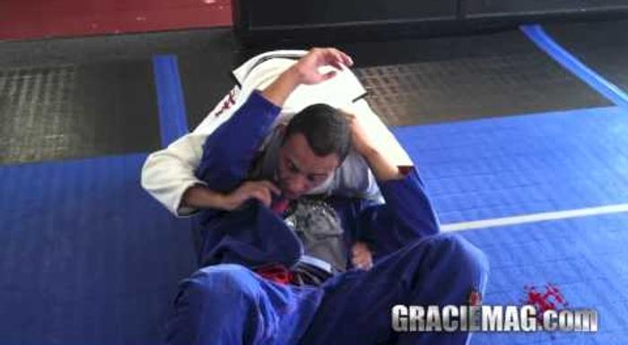 Pegue as costas partindo da posição norte e sul no Jiu-Jitsu