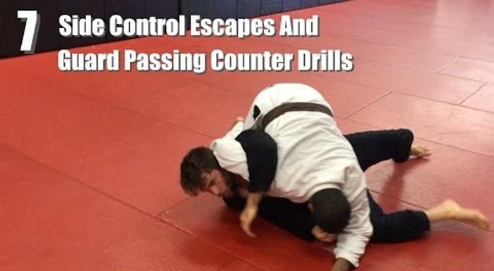 BJJ: 7 drills to contain the guard pass and side control
