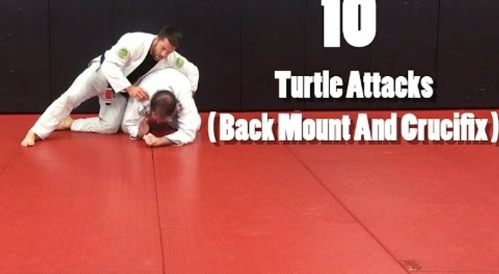 10 attacks from the turtle position to use when your foe thwarts a pass
