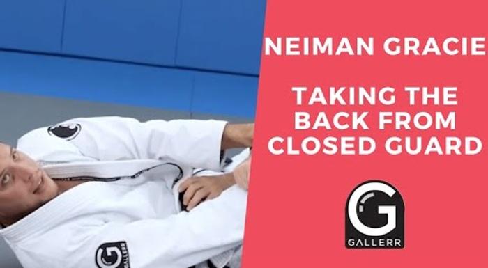 Neiman Gracie: Pegue as costas da guarda fechada