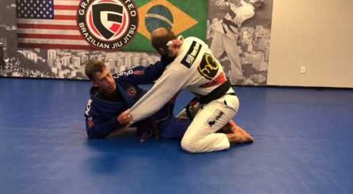BJJ: Learn a sneaky lapel choke developed by a purple-belt
