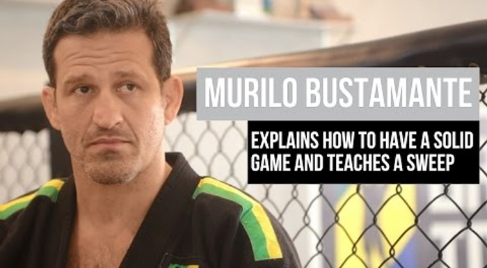 Brazilian Jiu-Jitsu technique: Murilo Bustamante explains how to have a solid game and teaches a sweep from the De la Riva hook