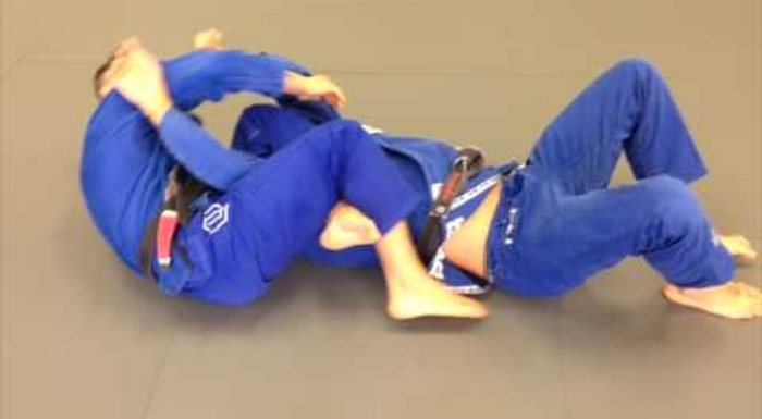 BJJ: Sweep with the lasso guard and finish on the armbar, with Marcos Tinoco