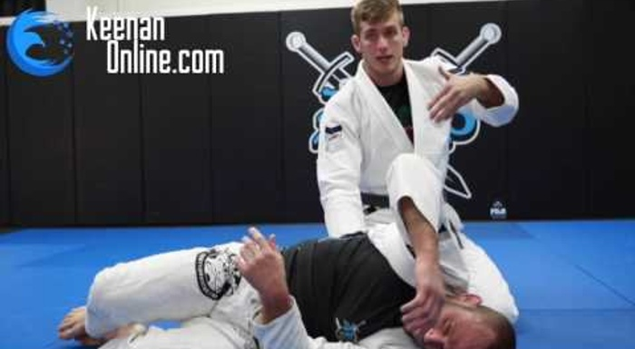 BJJ: Keenan Cornelius teaches a trick so you don't let side control slip away
